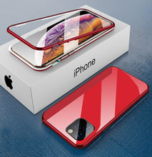 Load image into Gallery viewer, iPhone red TPU magnetic case