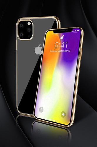 iPhone11  gold PC case