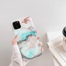 Load image into Gallery viewer, iPhone11 marble like case 19
