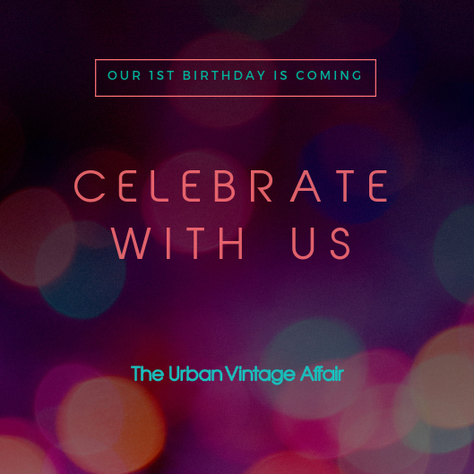Celebrate As We Turn One !