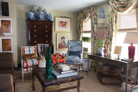Antiques, Interior and Decor of Grandmillennial Styling
