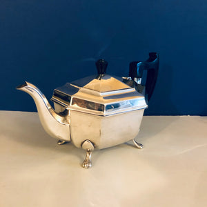 Beautiful Antique Silver Quality Silver Plate Teapot