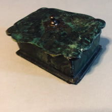Load image into Gallery viewer, The Mixologist Jason - Antique Paper Mache Small Green Lacquer Box