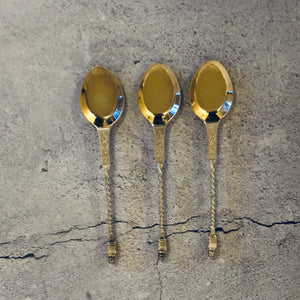The Headhunter Silvia - Antique Silver Dessert Spoons