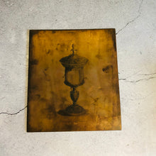 Load image into Gallery viewer, The Director Suri - Antique Etched Copper Printing Plate