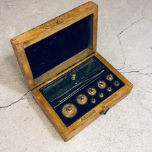 Load image into Gallery viewer, Antique Science Laboratory Scale Weights by AH  Baird