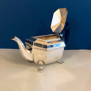 The Punk Evan - Beautiful Antique Silver Plate Teapot