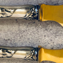 Load image into Gallery viewer, The Headhunter Toby - Antique Silver Butter Knives