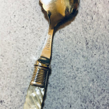Load image into Gallery viewer, The Headhunter Lucy - Antique Silver Twisted Handle Spoon