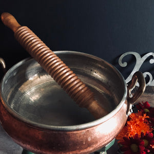 The Director Iris - French Vintage Large Copper Pan