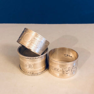 The Director Kendal - Antique Silver Napkin Ring