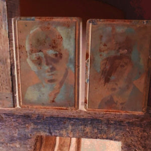 Vintage Copper Printing Plates