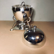 Load image into Gallery viewer, The Groom Fredrick - Art Deco Silver Egg Coddler