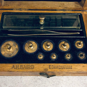 The Director Cullen - Antique Laboratory Scale Weights