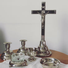 Load image into Gallery viewer, The Director Andre -  Last Rites Religious Candlesticks