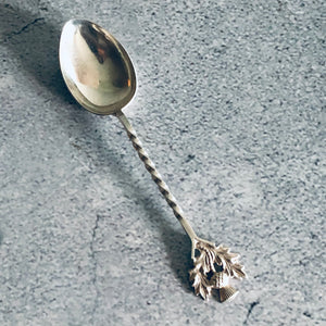 The Headhunter James - Sterling Silver Tea Spoon Scottish Silver