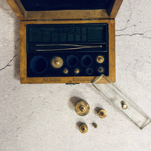 Load image into Gallery viewer, The Director Cullen - Antique Laboratory Scale Weights