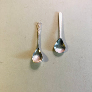 The Headhunter Roberto - Pair of Tiny Salt Spoons