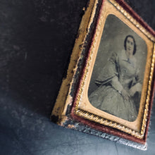 Load image into Gallery viewer, The Director Margaret - Ambrotype Victorian Framed Photograph