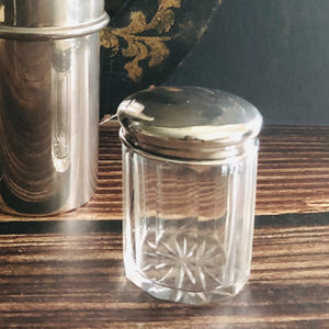 The Mixologist Fam - Victorian Silver Top Vanity Jar