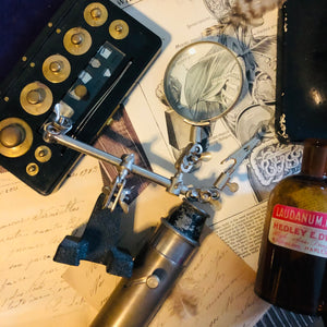 The Director Jesse - Antique Brass Telescope Magnifying Spyglass Piece
