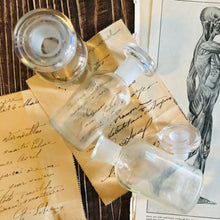 Load image into Gallery viewer, Vintage Apothecary Poison Bottle | Refill Glass Bottle