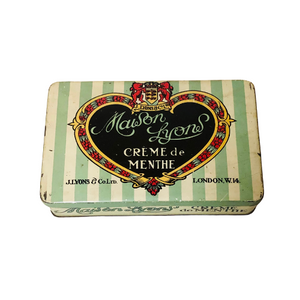 The Mixologist Samantha - Vintage Advertising Confectionery Tin