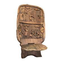 Load image into Gallery viewer, The Sergeant Lor - Antique African Birthing Chair