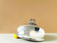Load image into Gallery viewer, The Director Casey - Antique Silver Cloche