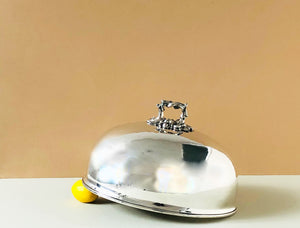 The Director Casey - Antique Silver Cloche
