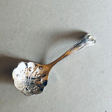 Load image into Gallery viewer, The Headhunter Scott - Antique Silver Plate Berry Spoon