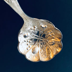 The Headhunter Scott - Antique Silver Plate Berry Spoon