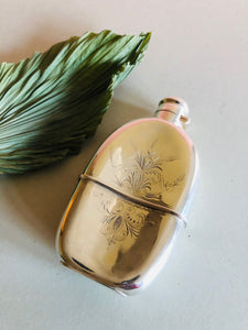 The Artist Sonny - Antique Silver Pocket Hip Flask