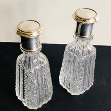 Load image into Gallery viewer, The Artist Susan  - Pair of Antique Vanity Bottles