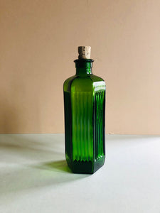 The Artist Andre - Vintage Green Poison Bottle