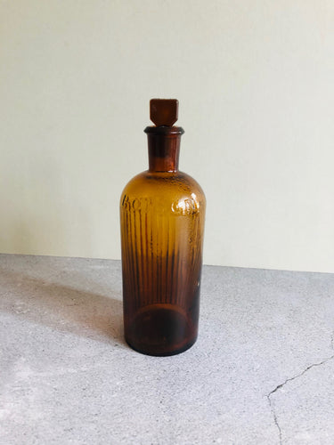 The Artist Carlson - Vintage Apothecary Poison Bottle