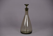 Load image into Gallery viewer, The Artist Evan - Large Grey Vintage Glass Decanter