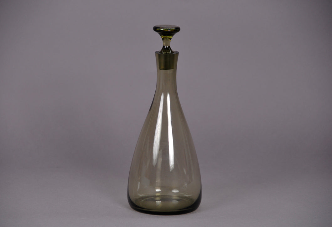 The Artist Evan - Large Grey Vintage Glass Decanter
