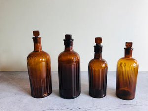 The Artist Aubrey - Vintage Apothecary Poison Bottle