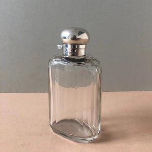 The Artist Isabella - Antique Silver Topped Scent Bottle
