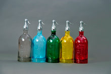 Load image into Gallery viewer, The Artist Lewis - French Green Glass Soda Syphon Seltzer Bottle