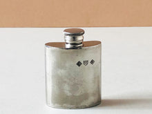 Load image into Gallery viewer, The Artist Mila - Vintage Pewter Pocket Hip Flask