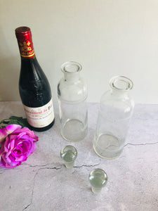 The Artist Sandra - Pair of Vintage Decanters