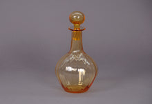 Load image into Gallery viewer, The Artist Tom - Vintage amber glass decanter