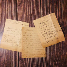 Load image into Gallery viewer, The Director Steve  - Vintage French Postcard Letters