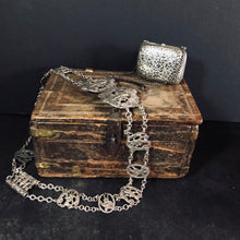 Load image into Gallery viewer, Antique Wooden Chest Handmade From 17th Century