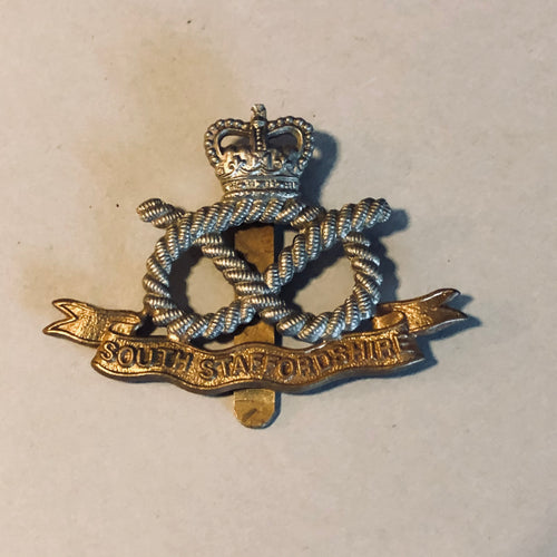 The Director Madison - Vintage Military Badge For South Staffordshire
