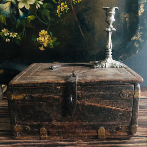 The Mixologist Kim - Antique Wooden Chest