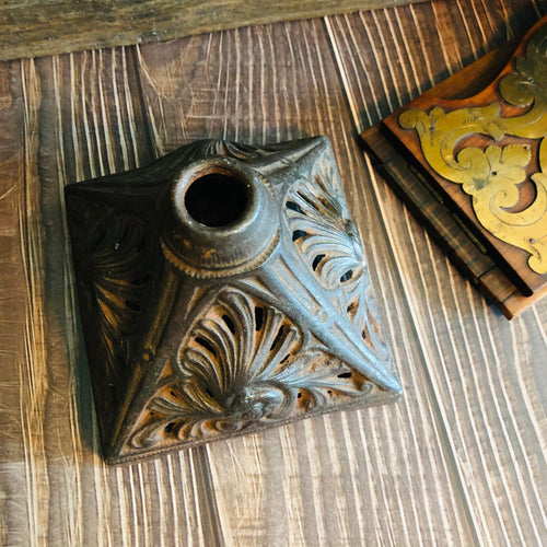 The Director Taylor - Cast Iron Ornamental Base / Candle Holder