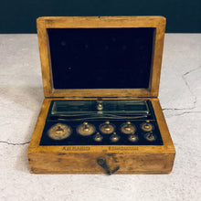 Load image into Gallery viewer, Antique Science Laboratory Scale Weights
